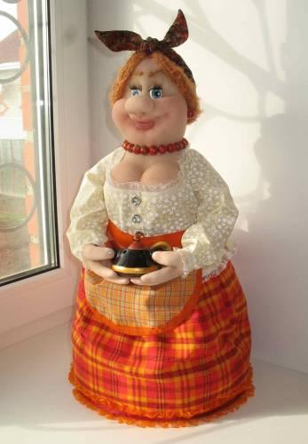 Кукла на чайник своими руками мастер-класс, грелка на чайник выкройка 85